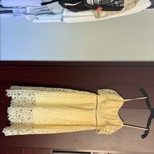 Yellow Aster the label dress
